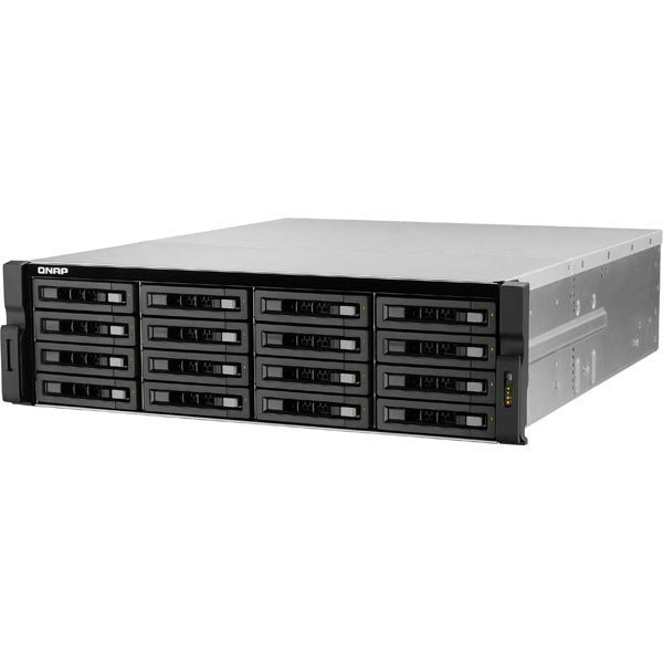 QNAP NAS 16-bay with ECC memory for high-end SMBs