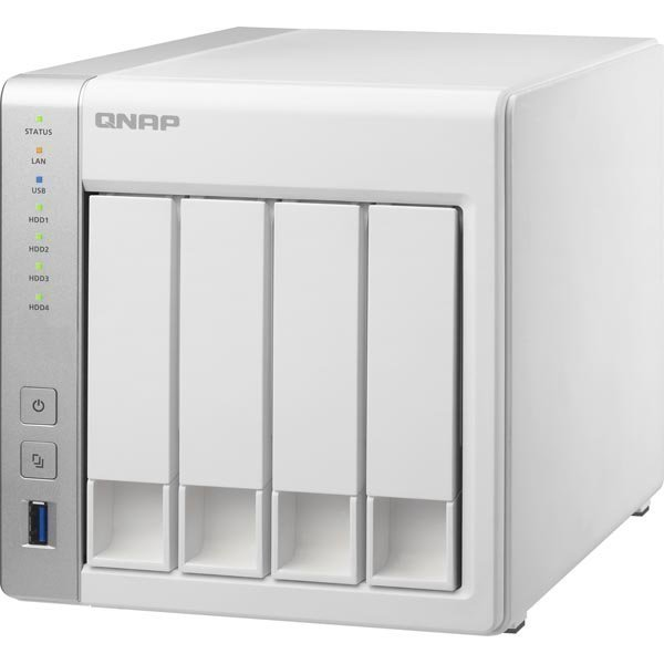 Qnap 4-Bay TurboNAS dual-core ARM Cortex-A9 1.2Ghz