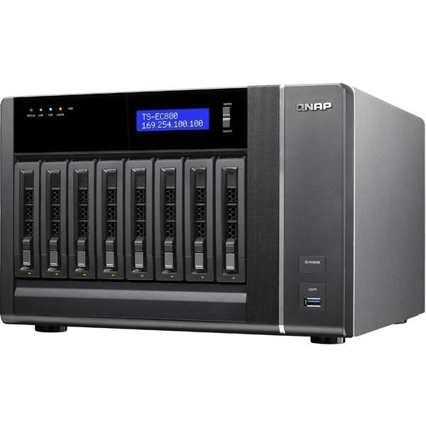 Qnap 8-Bay Tower Quad-core Intel® Xeon
