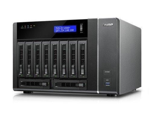 Qnap Tvs-ec1080+ Turbo Nas 0tb