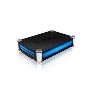 Raidsonic Icy Box External Cabinet 1x5.25 Sata To Usb 3.0/esata 3.5 5.25 Usb 3.0 Esata Musta Sininen