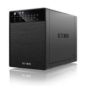 Raidsonic Icy Box Ib-rd3640su3 3.5 Usb 3.0 Esata Musta