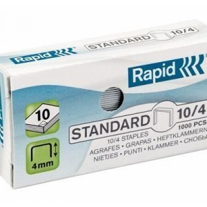 Rapid Staples Standard Galvanized 10/4 1000pcs