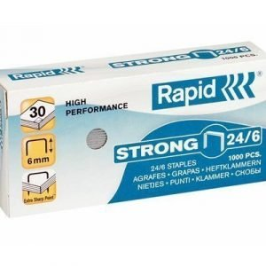 Rapid Staples Strong 24/6 Galv 1000pcs