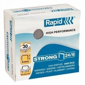 Rapid Staples Strong 24/6 Galv 5000pcs