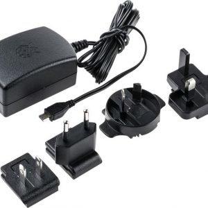 Raspberry Pi 3 Micro-USB Charger 5V 2.5A Black