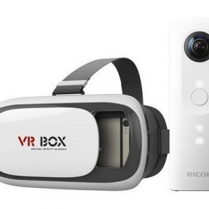 Ricoh Theta Sc + Virtual Reality Headset Valkoinen
