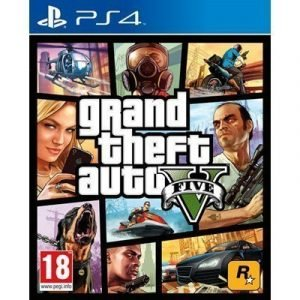 Rockstar Games Grand Theft Auto V (gta 5) Ps4