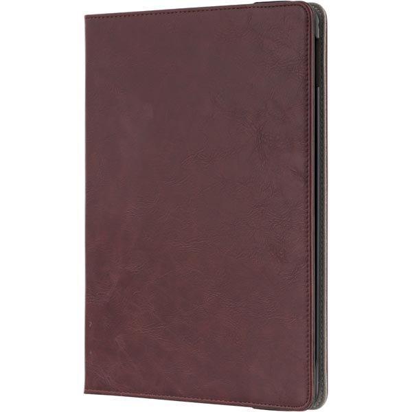 STREETZ iPad Air 2 kotelo luottokorttitaskut kantokahva punaruskea