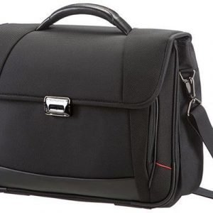 Samsonite Pro-dlx4 Briefcase 2 16tuuma Nailon Musta