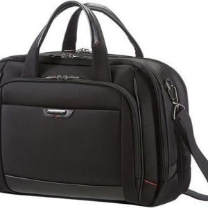 Samsonite Pro-dlx4 Laptop Bailhandle L 16tuuma Nailon Musta