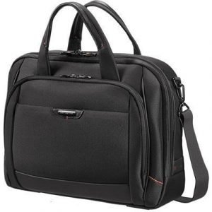 Samsonite Pro-dlx4 M Laptop Bailhandle 16tuuma Nailon Musta