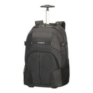 Samsonite Rewind Backpack Wheel Musta