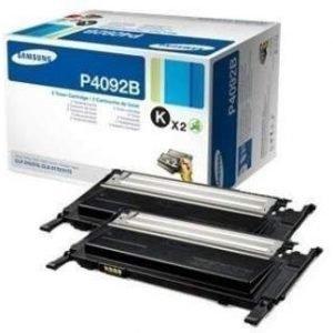 Samsung CLP-310 CLX-3175 Toner P4092B 2 Pack Black