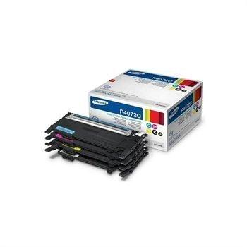 Samsung CLX-3185FW Toner rainbow Kit CLT-P4072C/ELS Black Cyan Magenta Yellow