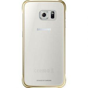 Samsung Clear Cover Ef-qg920b Takakansi Matkapuhelimelle Samsung Galaxy S6 Kulta