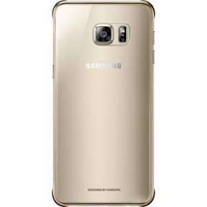 Samsung Clear Cover Ef-qg928c Takakansi Matkapuhelimelle Samsung Galaxy S6 Edge+ Kulta