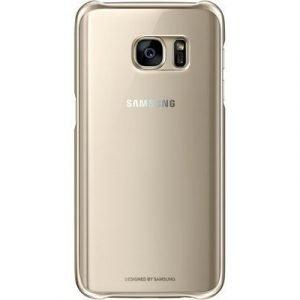 Samsung Clear Cover Ef-qg930 Takakansi Matkapuhelimelle Samsung Galaxy S7 Kulta