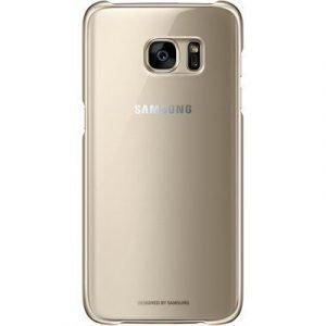 Samsung Clear Cover Ef-qg935 Takakansi Matkapuhelimelle Samsung Galaxy S7 Edge Kulta
