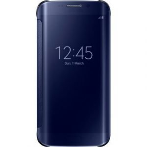 Samsung Clear View Cover Ef-zg925b Samsung Galaxy S6 Edge Musta