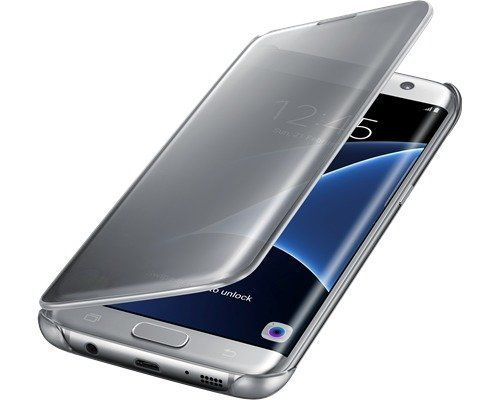 Samsung Clear View Cover Ef-zg935 Läppäkansi Matkapuhelimelle Samsung Galaxy S7 Edge Hopea