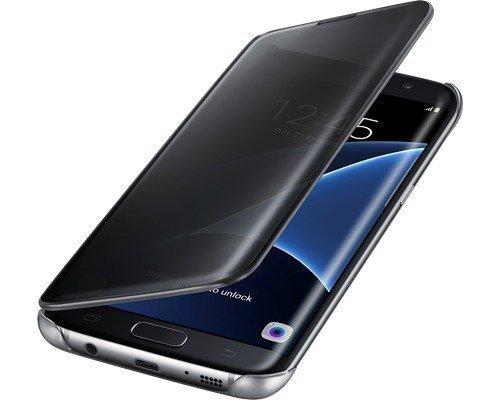 Samsung Clear View Cover Ef-zg935 Läppäkansi Matkapuhelimelle Samsung Galaxy S7 Edge Musta