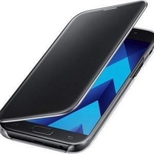 Samsung Clear View Cover Samsung Galaxy A5 (2017) Musta