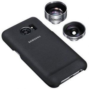 Samsung Et-cg935 Lens Cover Galaxy S7 Edge Musta