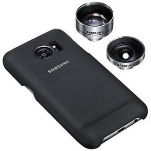 Samsung Et-cg935 Lens Cover Galaxy S7 Edge #demo Musta