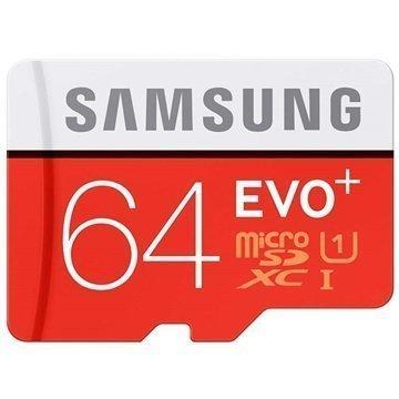 Samsung Evo Plus MicroSDXC Muistikortti 64Gt