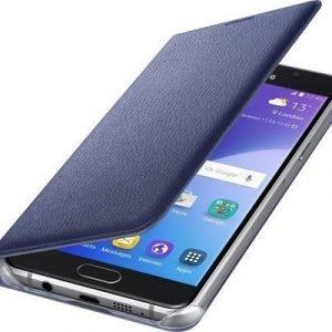 Samsung Flip Wallet Ef-wa510pb Läppäkansi Matkapuhelimelle Samsung Galaxy A5 (2016) Musta Sininen