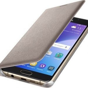 Samsung Flip Wallet Ef-wa510pf Läppäkansi Matkapuhelimelle Samsung Galaxy A5 (2016) Kulta