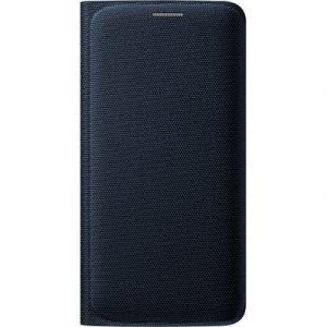 Samsung Flip Wallet Ef-wg925b Samsung Galaxy S6 Edge Musta
