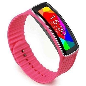 Samsung Galaxy Gear Fit Tuff-luv Wristband Pink