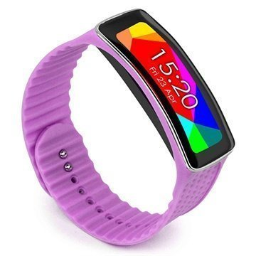 Samsung Galaxy Gear Fit Tuff-luv Wristband Purple