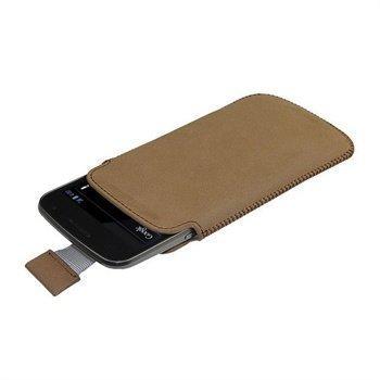 Samsung Galaxy Nexus iGadgitz Nahkakotelo Ruskea