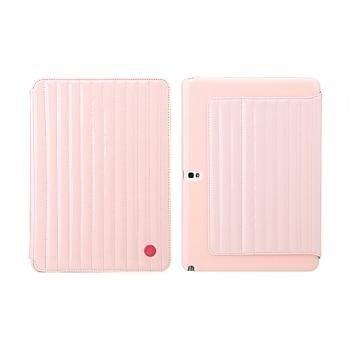 Samsung Galaxy Note 10.1 (2014 Edition) 8thdays Jessie's Melody Flip Case Pink