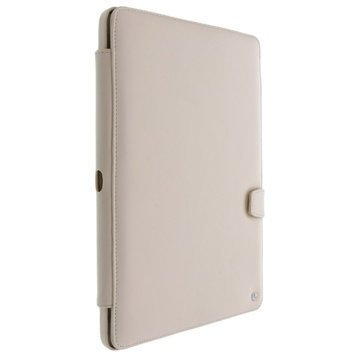 Samsung Galaxy Note 10.1 2014 Edition Noreve Tradition B Leather Case Beige