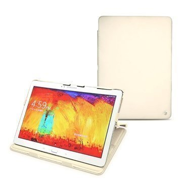 Samsung Galaxy Note 10.1 (2014 Edition) Noreve Tradition Nahkakotelo Beige