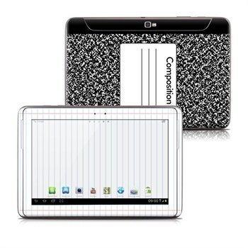 Samsung Galaxy Note 10.1 N8000 N8010 Composition Notebook Skin