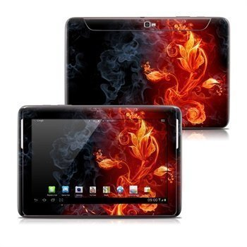 Samsung Galaxy Note 10.1 N8000 N8010 Flower Of Fire Skin