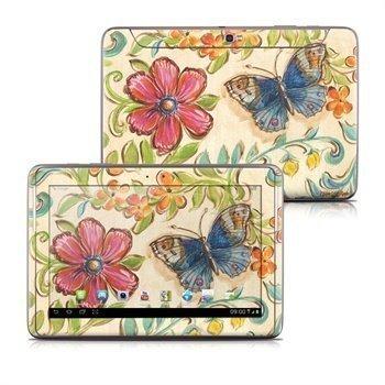 Samsung Galaxy Note 10.1 N8000 N8010 Garden Scroll Skin