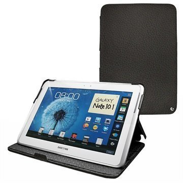 Samsung Galaxy Note 10.1 N8000 N8010 Noreve Tradition Leather Case Anthracite