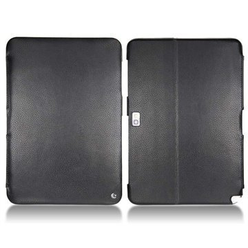 Samsung Galaxy Note 10.1 N8000 N8010 Noreve Tradition Leather Case Ebony