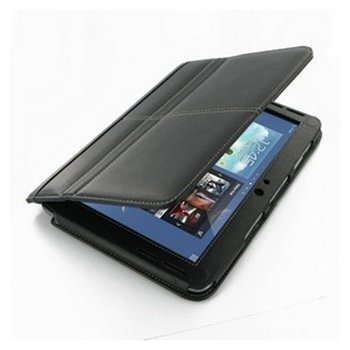 Samsung Galaxy Note 10.1 N8000 N8010 PDair Leather Case 3BSSN8BX1 Musta