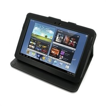 Samsung Galaxy Note 10.1 N8000 N8010 PDair Leather Case 3BSSN8BX2 Musta