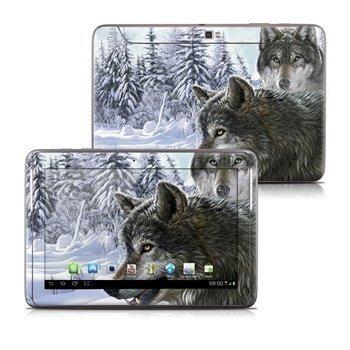 Samsung Galaxy Note 10.1 N8000 N8010 Snow Wolves Skin