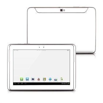 Samsung Galaxy Note 10.1 N8000 N8010 Solid State Skin Valkoinen