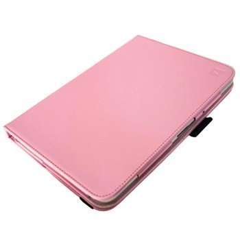Samsung Galaxy Note 10.1 N8000 iGadgitz PU Leather Case Pink