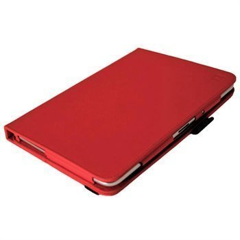 Samsung Galaxy Note 10.1 N8000 iGadgitz PU Leather Case Red
